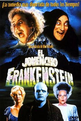 El jovencito frankenstein, igor, mel brooks, monstruo, el zorro con gafas