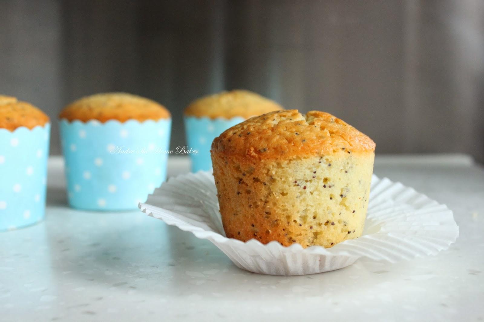 Andre's the Home Baker: ♥ Lemon Poppy Seed Muffins ♥