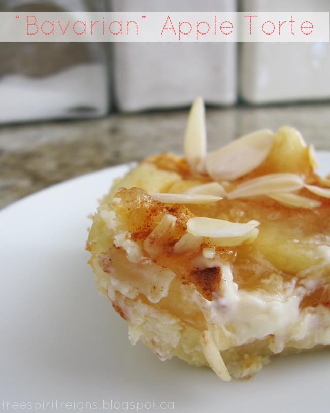"Recipe: ""Bavarian"" Apple Torte"
