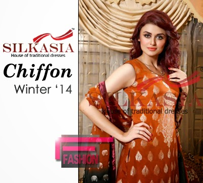 Silkasia Chiffon Winter Collection 2014