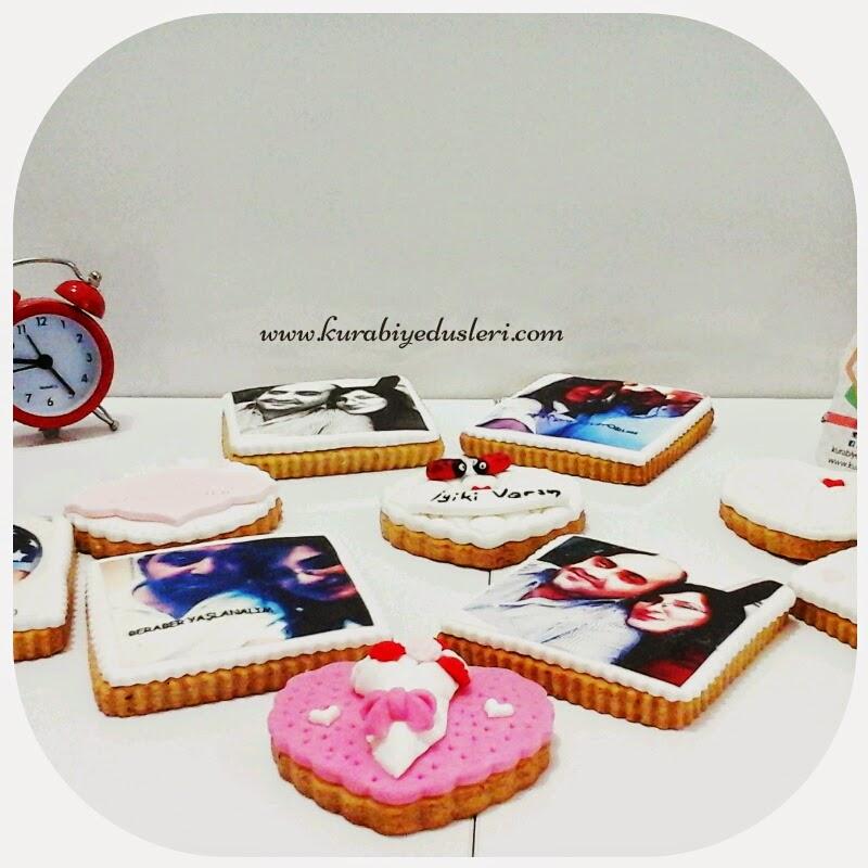 Fotoğraflı kurabiye