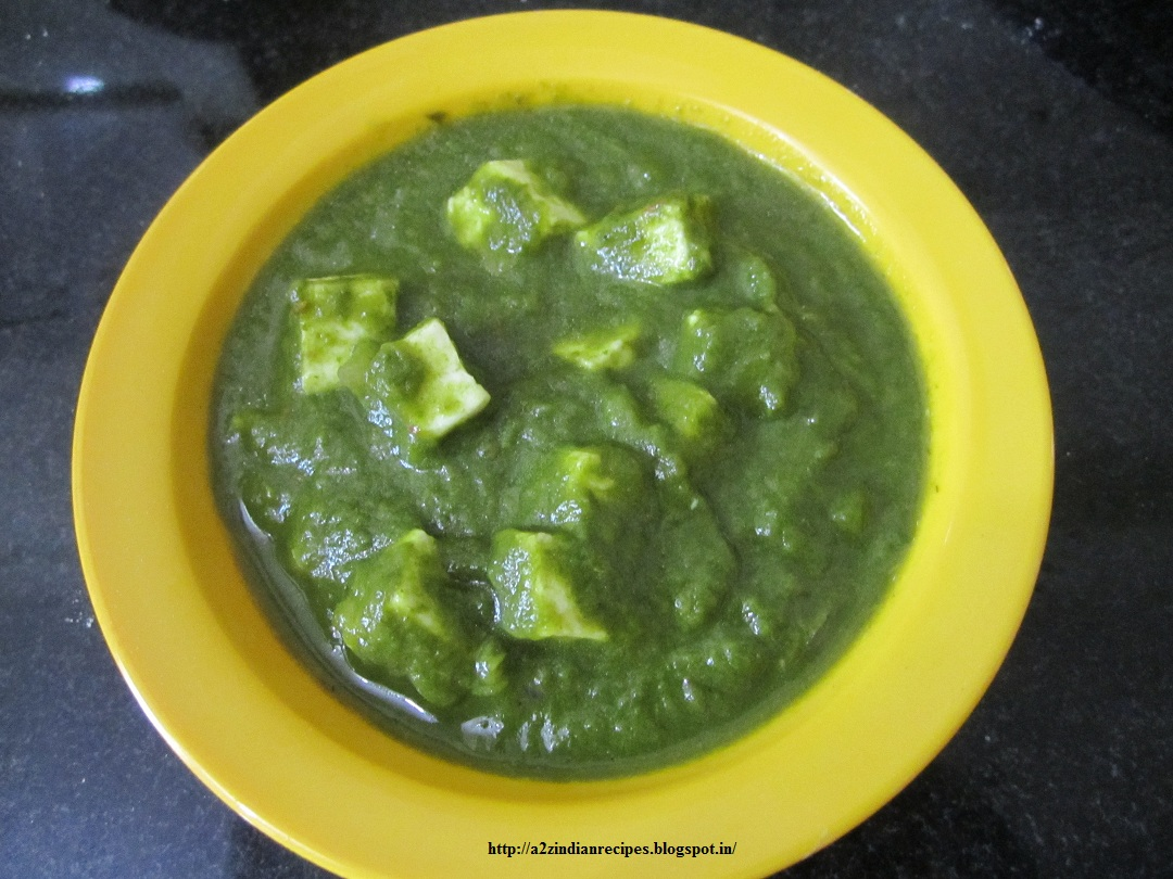 Palak Paneer Recipes — Dishmaps