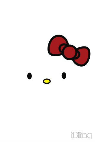 Hello Kitty iPhone Wallpaper (White) | Wallpapers for PC and Mobile