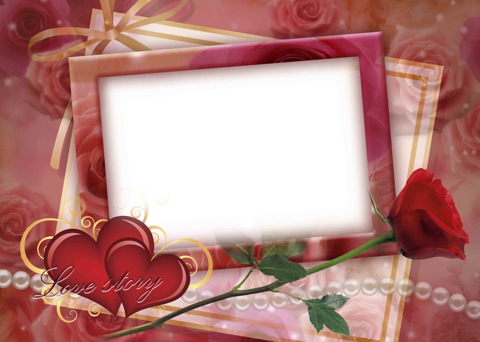 High Quality Love Frame Psd