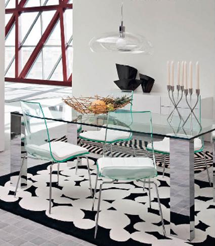 Decorar con mobiliario transparente decorar tu casa es for Decoracion de interiores luis xv
