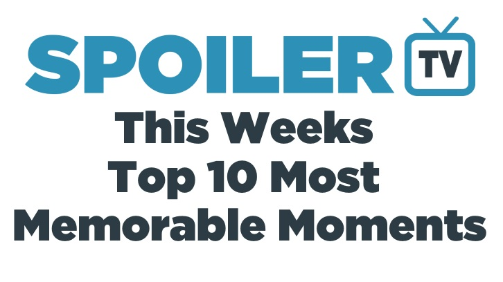 This Week's Top 10 Most Memorable Moments - 13th April 2015