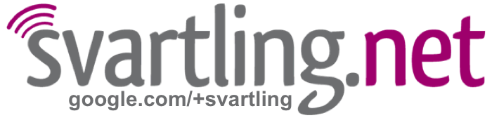 Svartling Network - Stefan Svartling's thoughts and visions about Technology & Gadgets