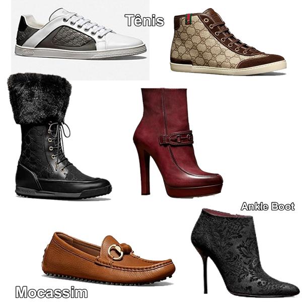 Coleção Sapatos Gucci Outono Inverno 2013