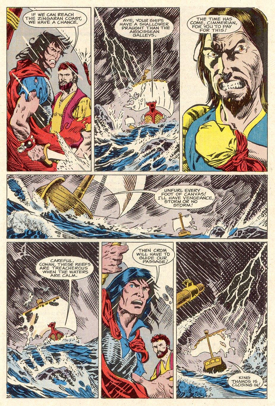 Conan the Barbarian (1970) Issue #186 #198 - English 21