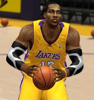 NBA 2K13 Dwight Howard Realistic Face Mod