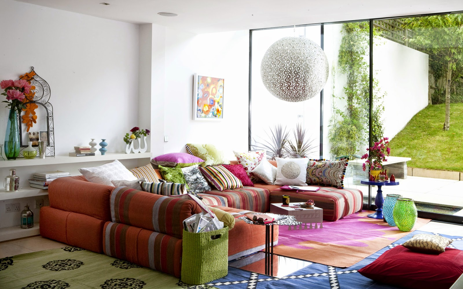 excellent colorful rugs for living room. Rug is Optional Normally people think that it vital to place rug under a  cocktail table while not true You can get or even do small living Celebrity Homes
