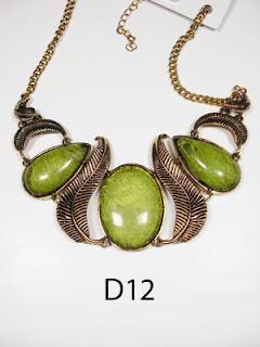 kalung aksesoris wanita d12