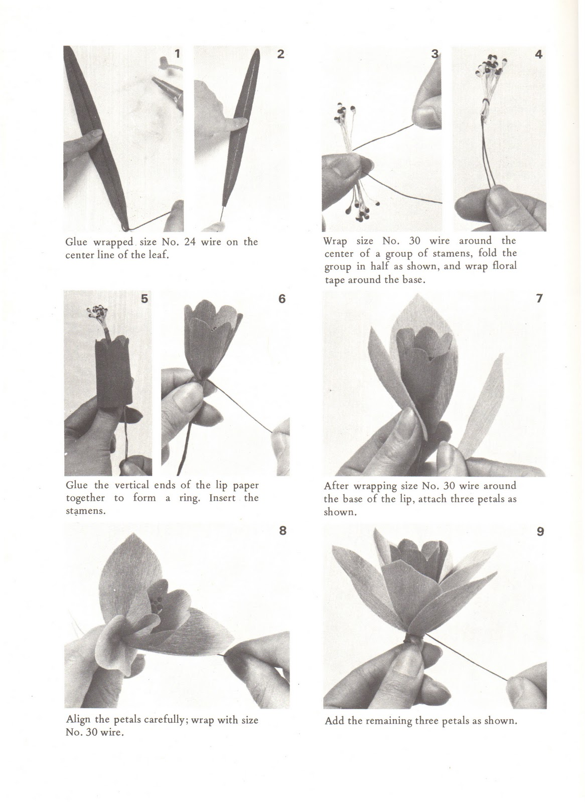 Bitter betty blogs tutorial make your own spring paper daffodils as you might recall my narcissus had a bulb on it that was made by adding a watte cotton pear wrapped in brown crepe paper to the bottom of my flower mightylinksfo