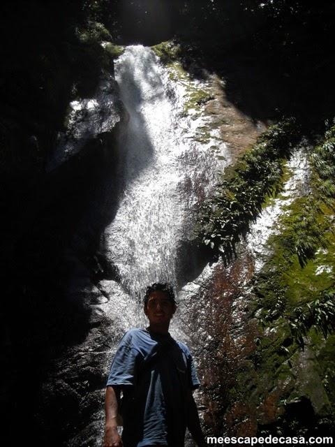 Cascada Tamushal, Shilcayo (Checa)