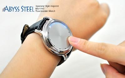 tokyo flash abyss touch screen led watch jam tangan layar sentuh