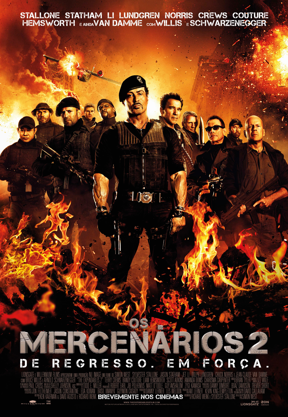 Os Mercenários 2 BDRip XviD Dual Áudio Dublado – Torrent