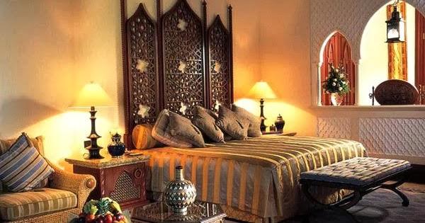 Interior Decorating Bedroom In Arabic Style