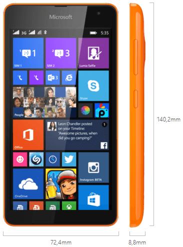Harga Dan Review Microsoft Lumia 535 Dual SIM
