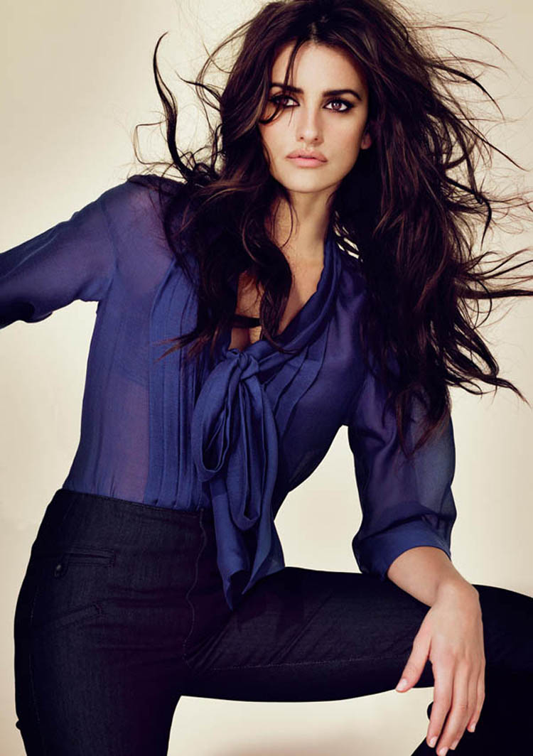 Fashionable Celebrity Hairstyle Penelope Cruz 17