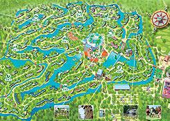 Center parcs de center parcs de eemhof parkplan for Port zelande map