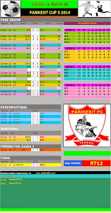 KLASEMEN PARIKESIT CUP 3 2014