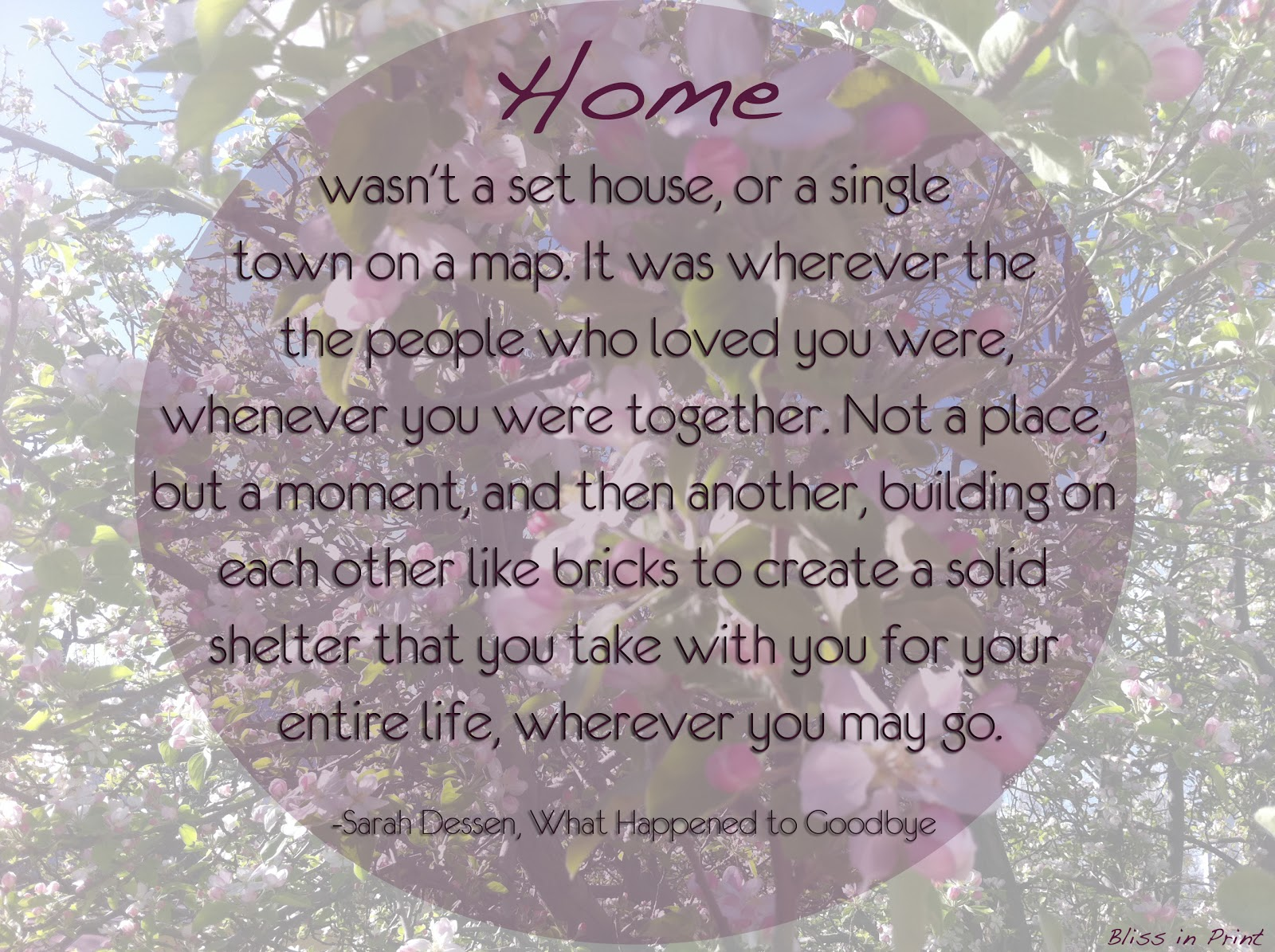 feeling and home Home is where the heart is, and for these musicians it offers up the ideal  being  home sweet home is such a sweet feeling, it's an obvious.