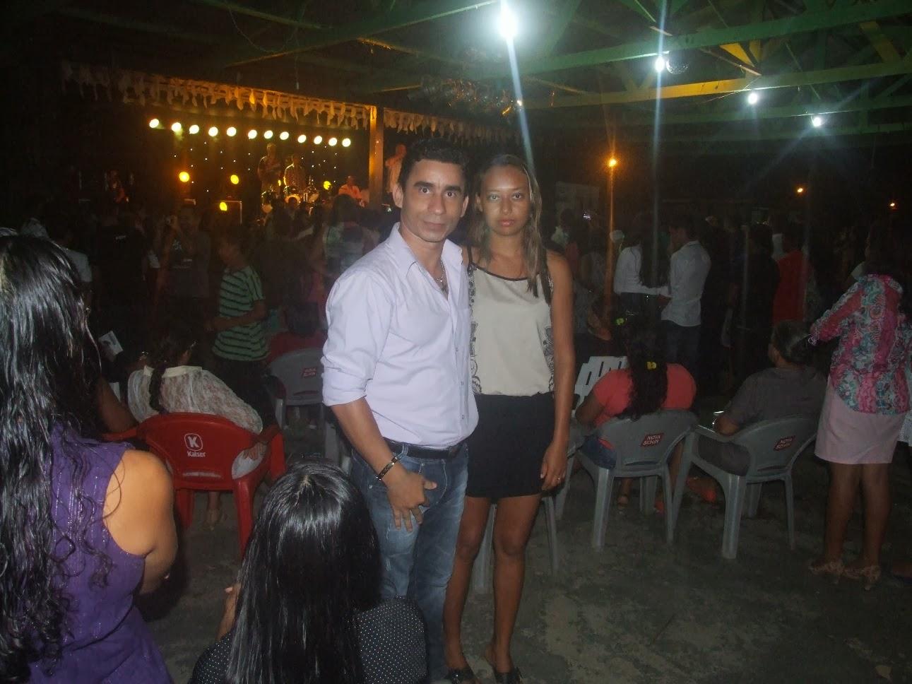 Joabe Reis e sua esposa Edilene Galvão