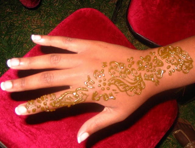 Henna on hand in Morocco