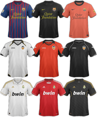La Liga Kits | FM 2012