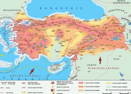 T�rkiye Deprem Haritas�