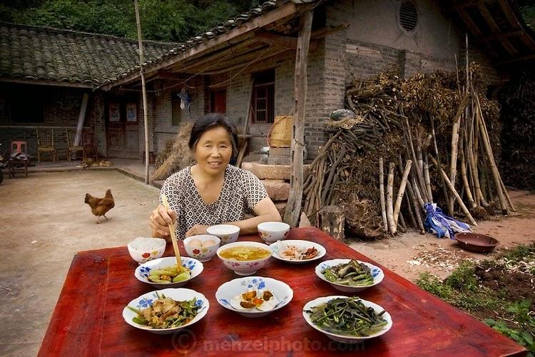 comidas alrededor del mundo china