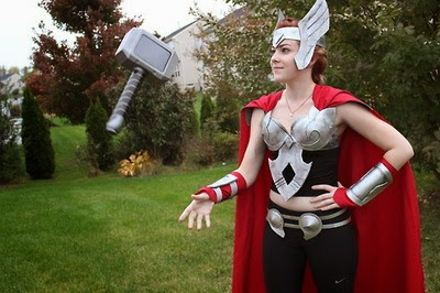 Lady Thor Halloween Costume
