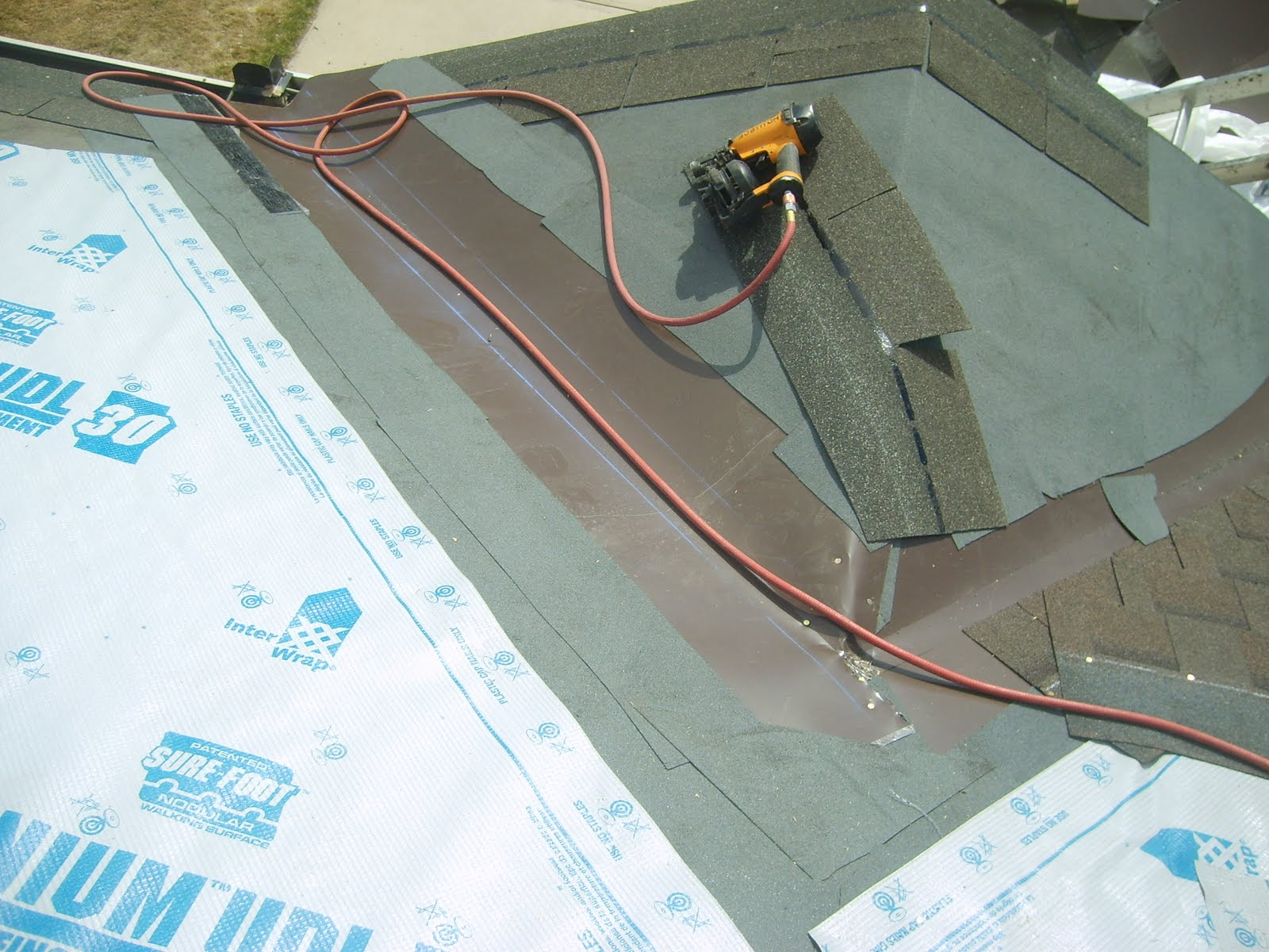 Roof Valley Flashing