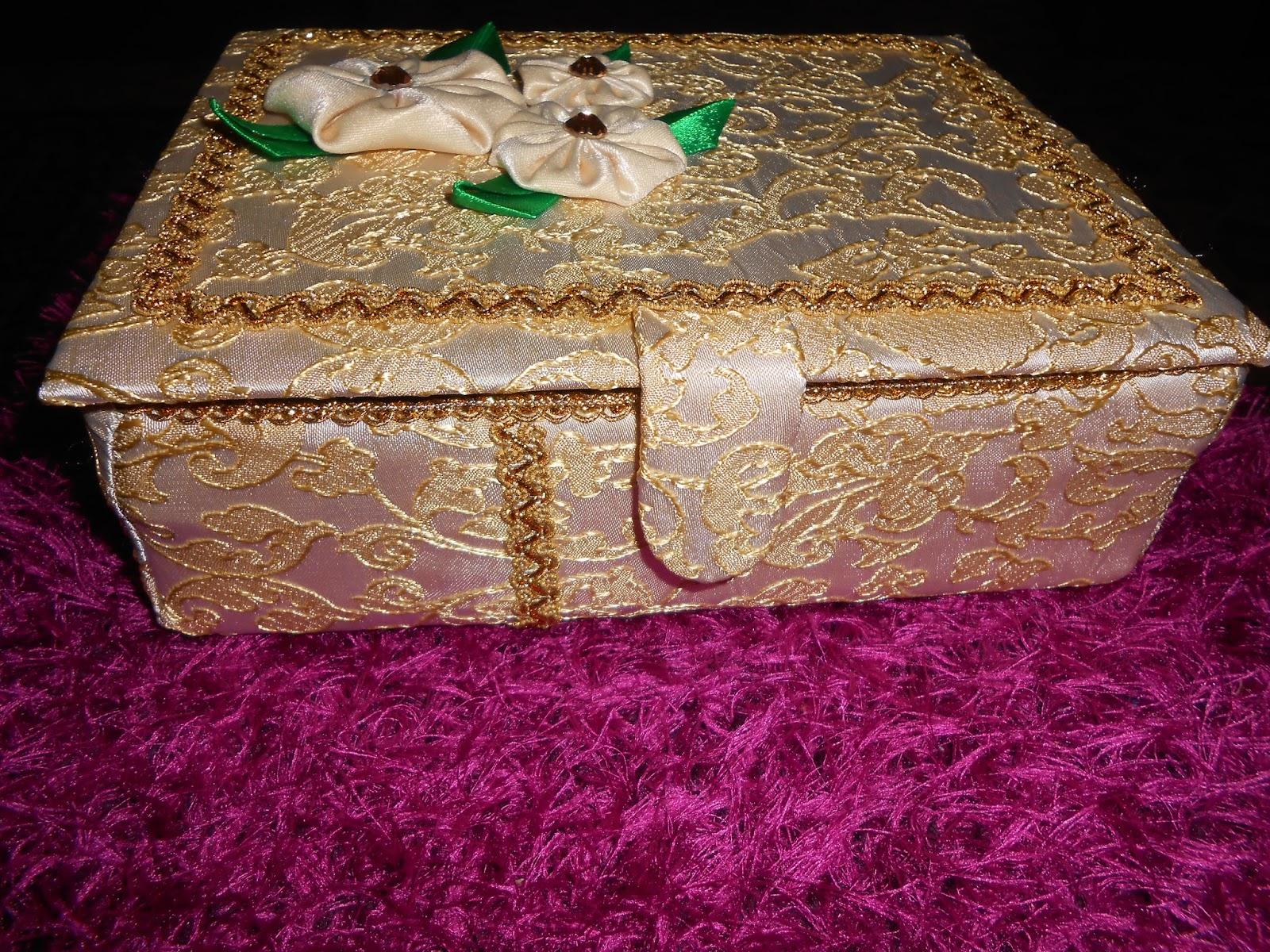 Фото шкатулки своими руками из картона и ткани