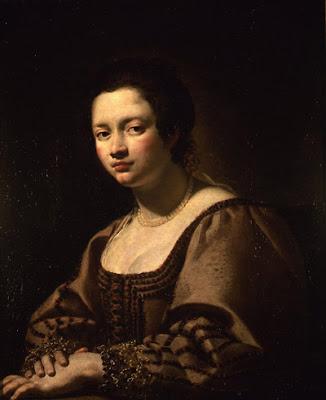 Simon Vouet - Portrait présumé de Virginia da Vezzo