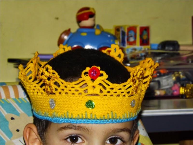 Corona de ganchillo o crochet