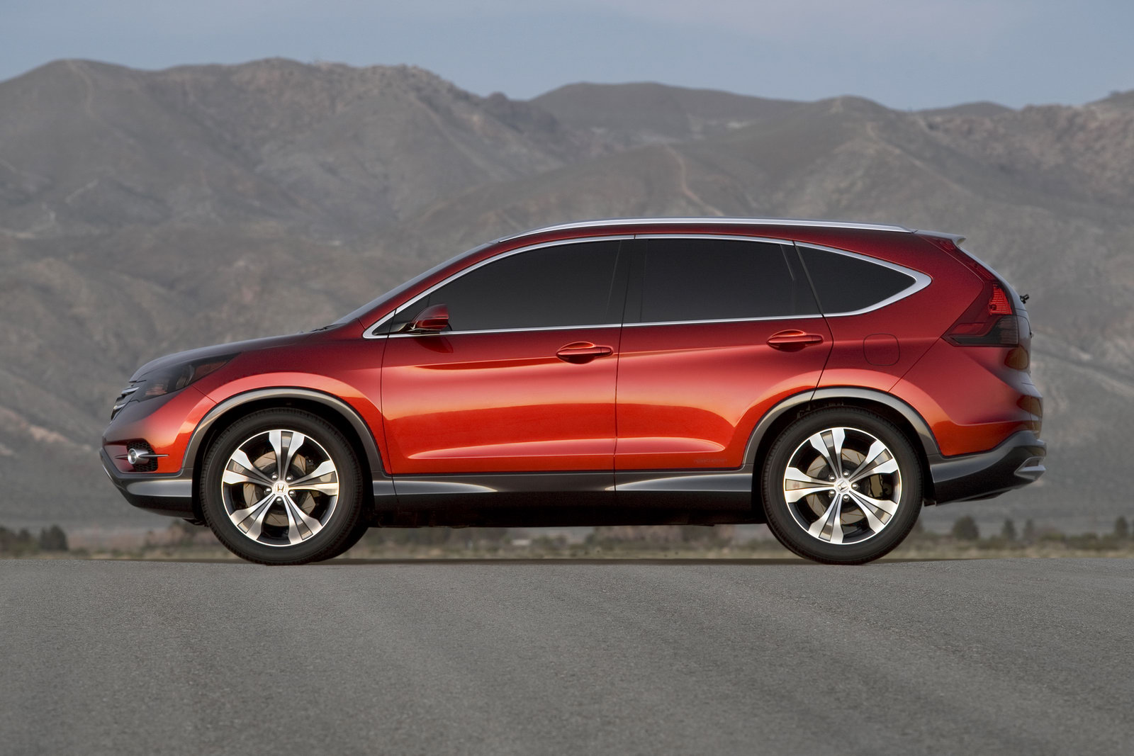 Honda cr v concept revealed