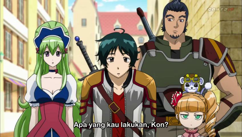 Nonton Online Anime Ixion Saga DT Episode 13 Sub Indo, Streaming