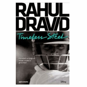 RAHUL DRAVID Timeless Steel book Rs.410