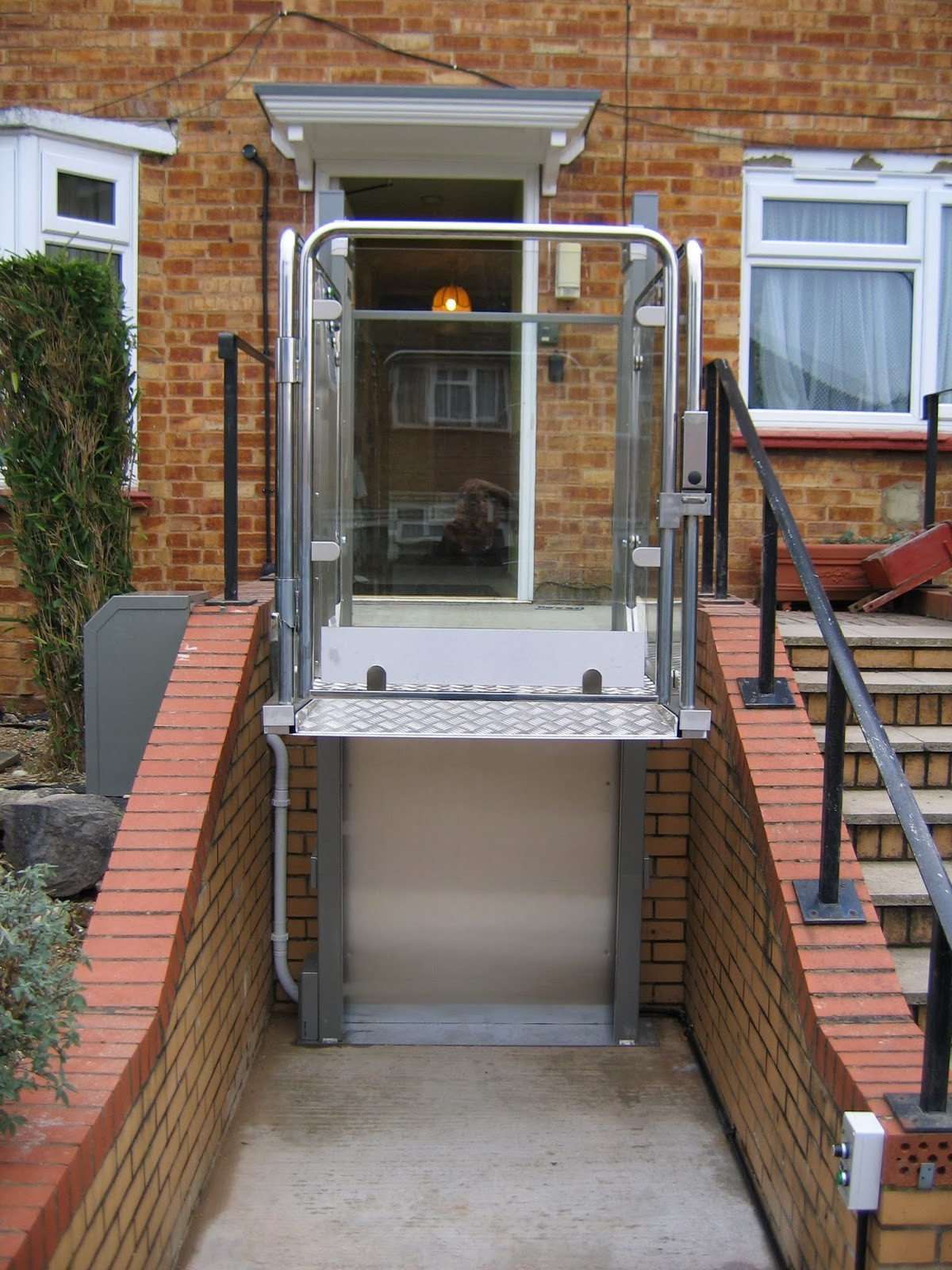 Mobility products for disabled people domestic step lifts for Wheelchair homes