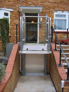 Wheelchair access to front door
