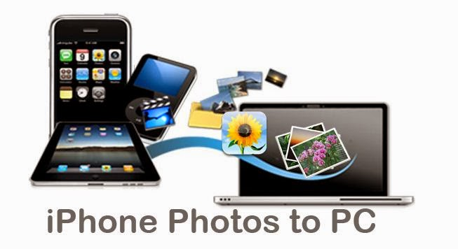 how to put the photos from iphone to computer