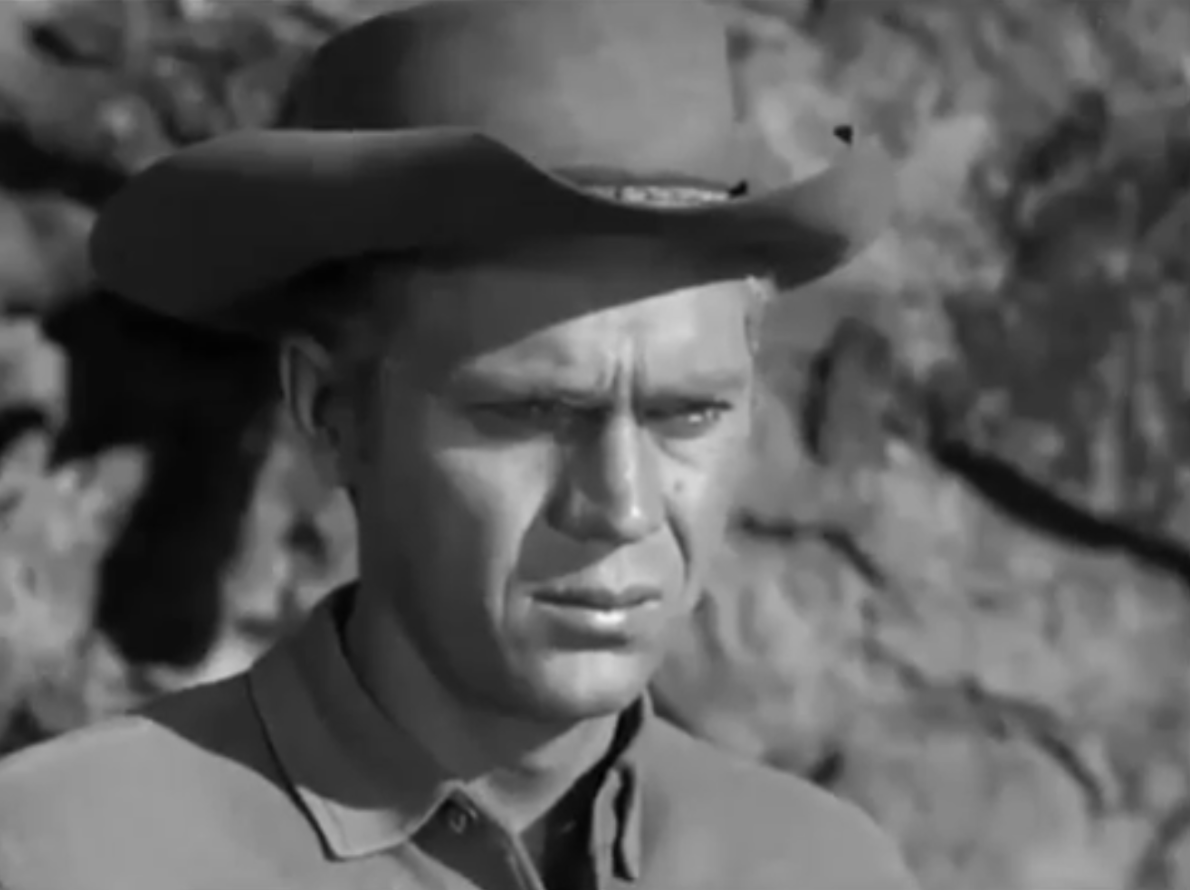 Steve mcqueen at the iverson movie ranch in quot wanted dead or alive