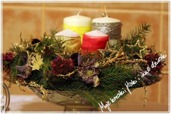 mój wieniec adwentowy, Advent wreath