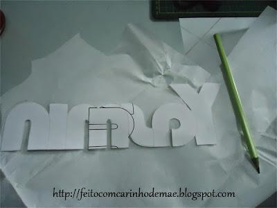 passo a passo de aplique em tecido com papel termocolante duplaface