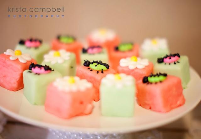 ladybug details, dessert for girls baby shower, lil ladybug desserts