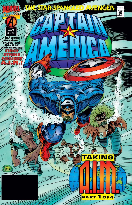 Captain America (1968) Issue #440 #392 - English 1