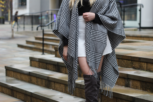 how to wear monochrome fashion blog