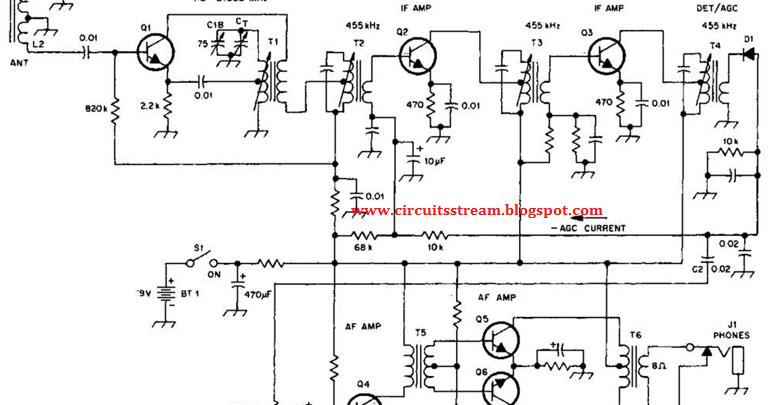Circuit Diagram Knowledge  Simple Transistorized Am Radio