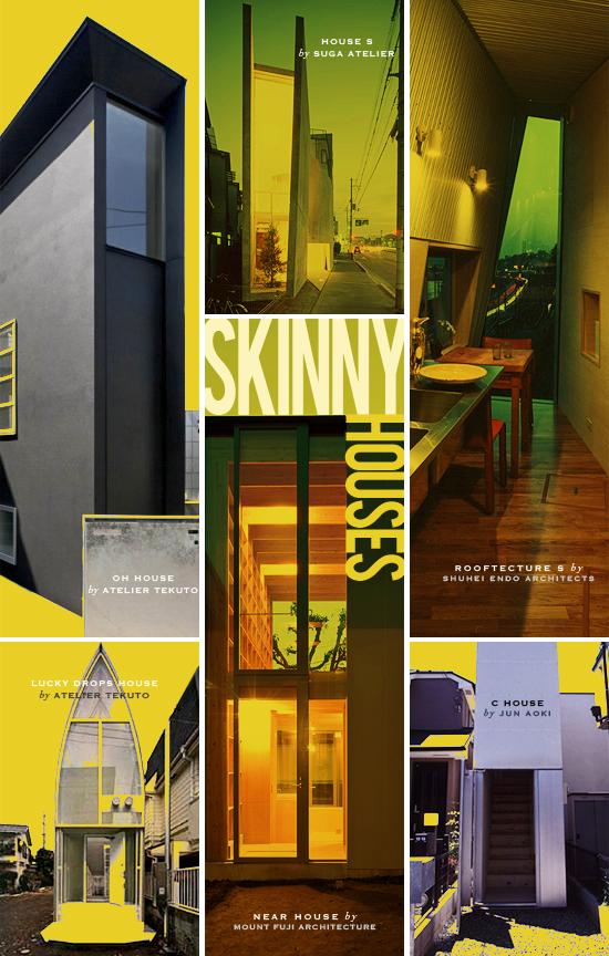 Skinny Narrow House